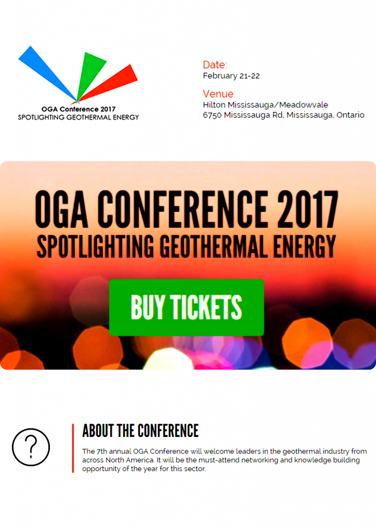 Eyedro electricity monitoring at Ontario geothermal association convention 2017