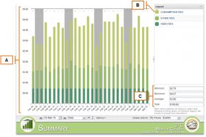 Screenshot of MyEyedro Client - Summary