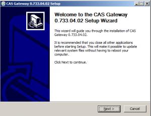 Screenshot of Chipkin Installer
