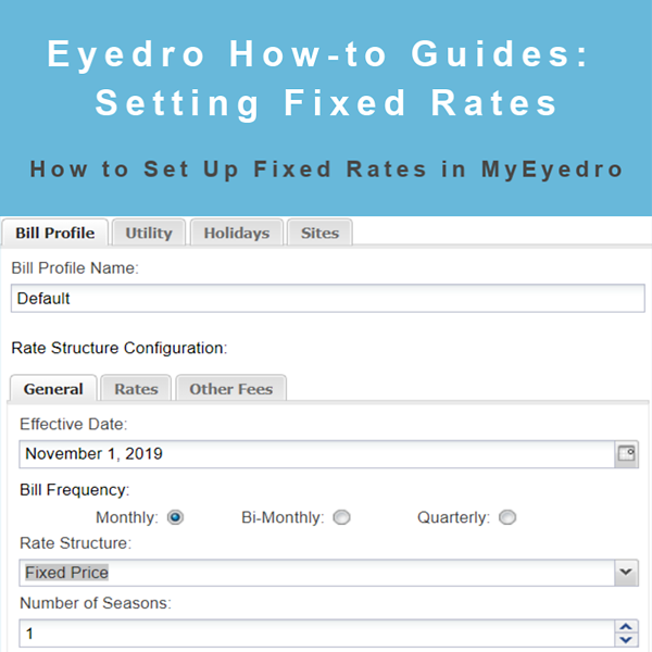How to Set Up Fixed Rates