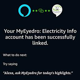 Amazon Alexa Eyedro Integration